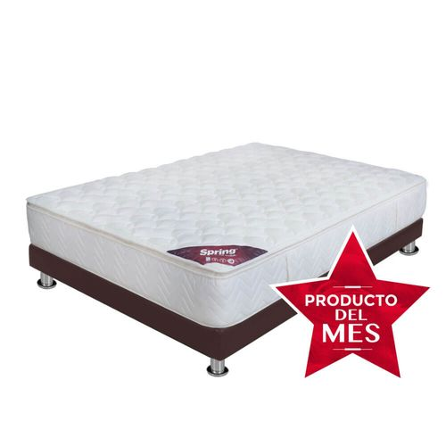 Combos, Combo Confort Dream Doble - Colchones Spring