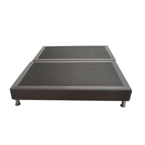 Muebles,Base Cama Salin 120 - 2x (120x095) Semi Doble Dividida Gris ...