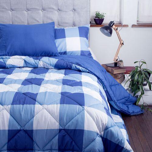 Plumon-Bicolor-Cuadr-Azul-Doble